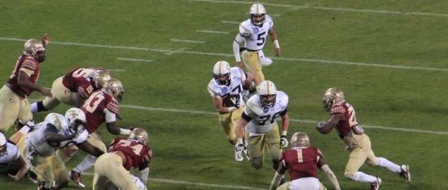 Florida State vs Georgia Tech in the 2014 ACC Championship Game