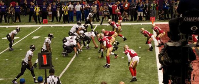 Ravens Goal Line Stand During Super Bowl XLVII.