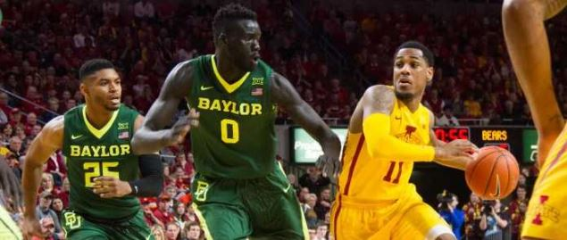 Iowa State vs Baylor in 2017 game.
