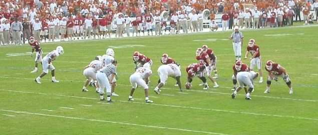 Texas vs OU Red River Shootout throwback from 2002
