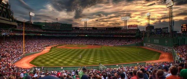 Boston Red Sox home field, Fenway Park.
