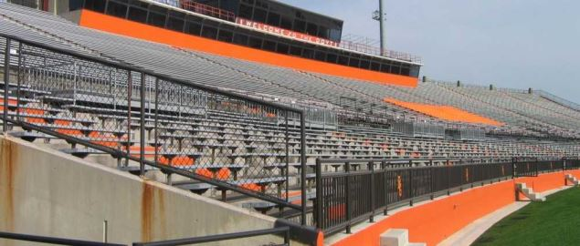 The Bowling Green Football Stadium.