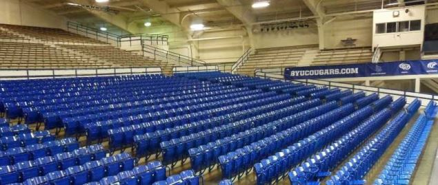 Smith Fieldhouse, BYU Arena Seating.