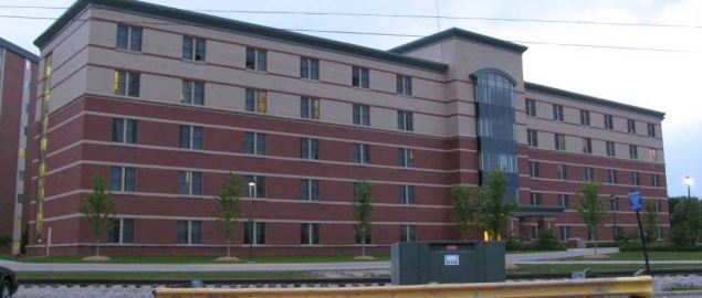 Kesseler Hall, Located in the Towers at Central Michigan University.