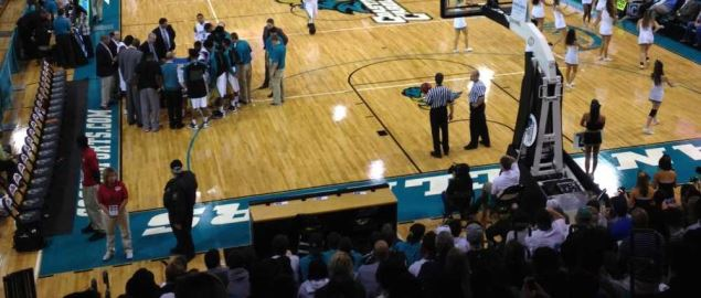 HTC Center, home of the Coastal Carolina Chanticleers.