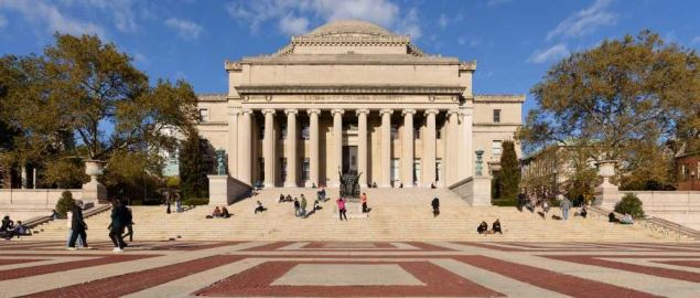 Low Memorial Library, Columbia University, Manhattan, New York City.