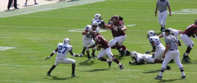 Virginia Tech Hokies football team against Duke University.