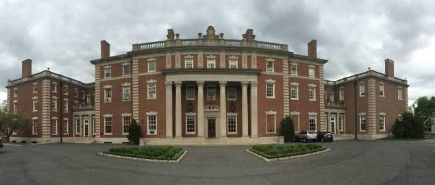 The mansion at Florham, Fairleigh Dickinson University.