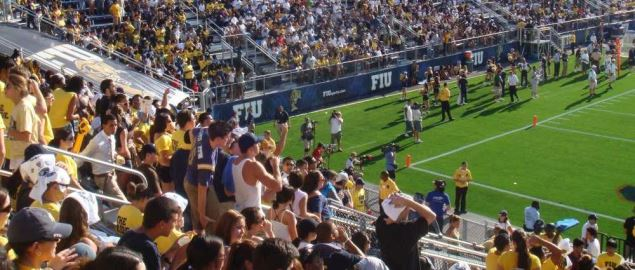 The FIU Stadium in Miami, during a 2008 home game.