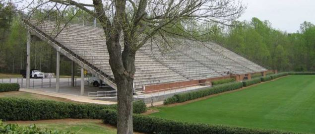 Football Facilities at Furman University Football Stadium.