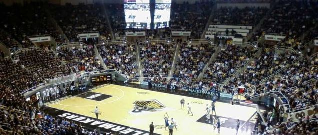Indiana State Sycamores take on the Purdue Boilermakers.