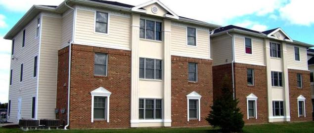 Waterfield Campus Student Housing on Fort Wayne Campus.