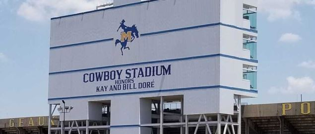 The McNeese State Cowboys stadium.