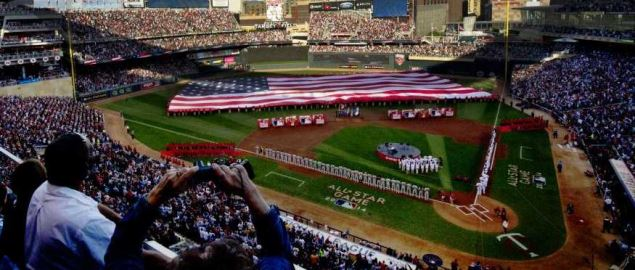 MLB All-Star Game in Minneapolis on July 15, 2014