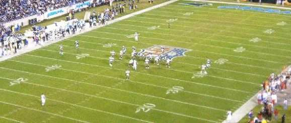 Carolina Panthers hosting Monday Night Football in 2007