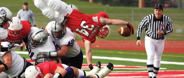 Monmouth College varsity football.
