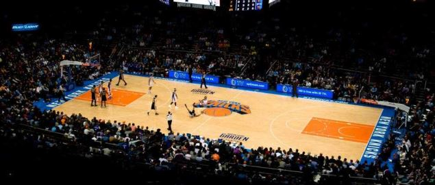 New-York Knicks in the Madison Square Garden.