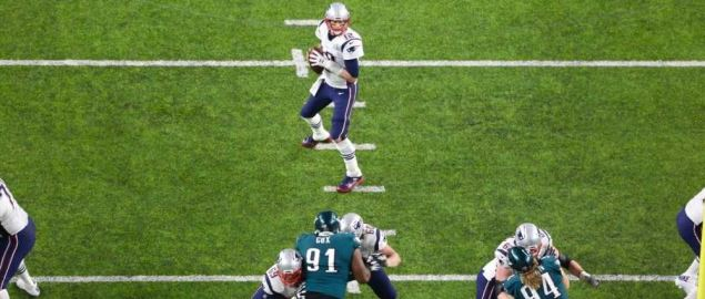 Patriots vs Eagles in Super Bowl LII on February 4, 2018