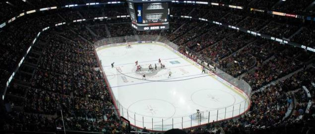 The Canadian Tire Centre, home of the Ottawa Senators.