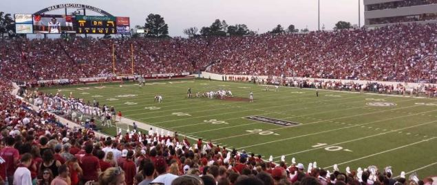Samford Bulldogs at Arkansas Razorbacks.