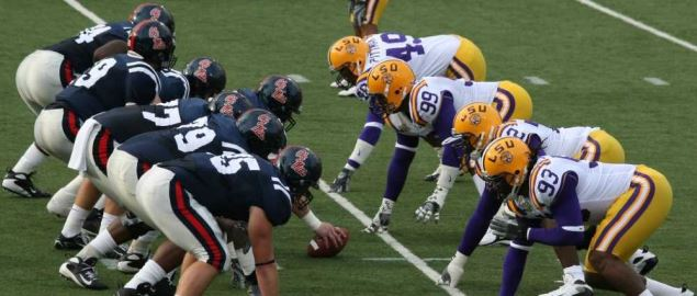 LSU vs Ole Miss SEC matchup throwback from November 17, 2007