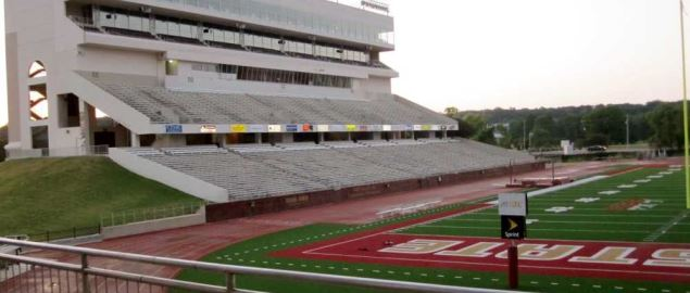 Fields West Side Complex at Bobcat Stadium at Texas State University.