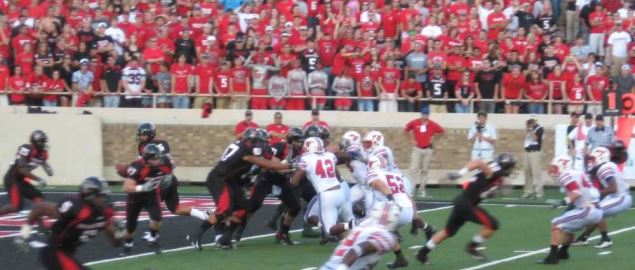 Texas Tech vs. SMU.