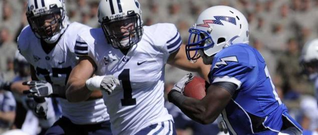Air Force takes on BYU at Falcon Stadium.