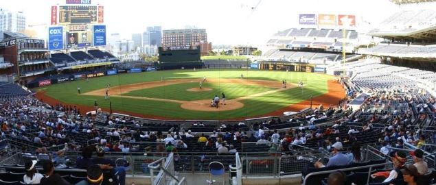 15th Annual Navy/Marine Corps All-Star Baseball game held at Petco Park in San Diego.