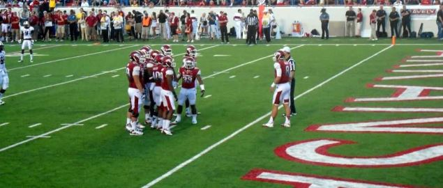 Arkansas Razorbacks vs ULM Warhawks, War Memorial Stadium, Little Rock, Arkansas.