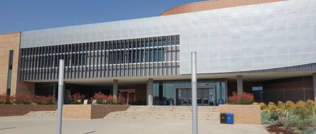 Student Recreation Center Arena at UC Riverside.