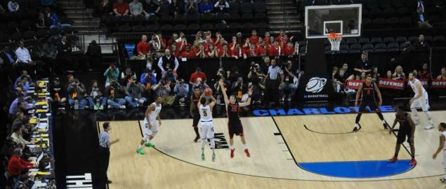 The Georgia Bulldogs vs. the Michigan State Spartans game.