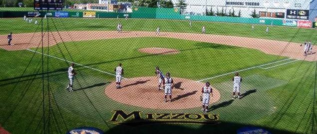 Simmons Field in Columbia, MO. Home of Missouri Tigers Baseball.