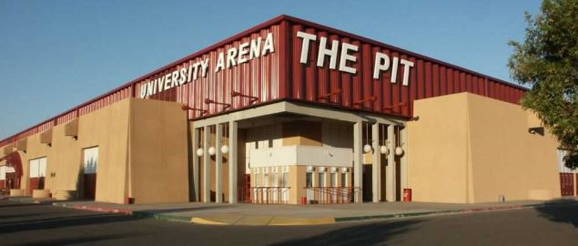 The Pit (University Arena) in Albuquerque, New Mexico.