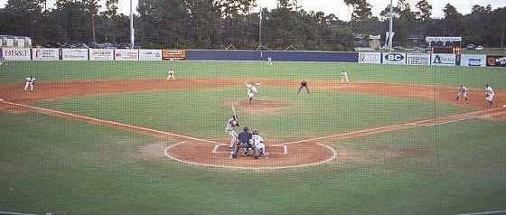 Brooks Field in Wilmington, NC, home of the UNCW Seahawks