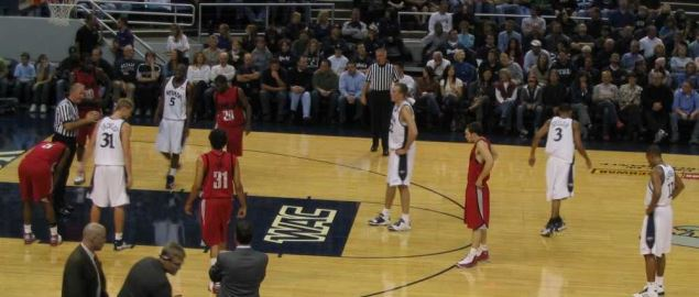 University of Nevada vs. University of Nevada-Las Vegas at the Rivalry game.